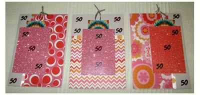 70s tag & envelope embellishment for invitation