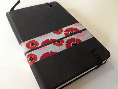 Washi tape, ideas, notebook