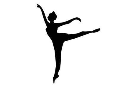 ballet,dancer,silhouette,shapes,wall art