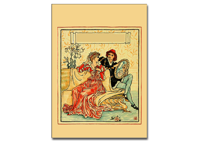 card,printables,walter crane,card series 1,vintage