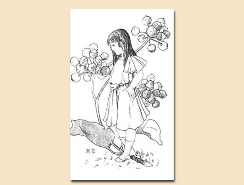 children colouring page,flowers,collage,cardmaking,scrapbooking,vintage  - Childrens Flower Colouring Sheet 10