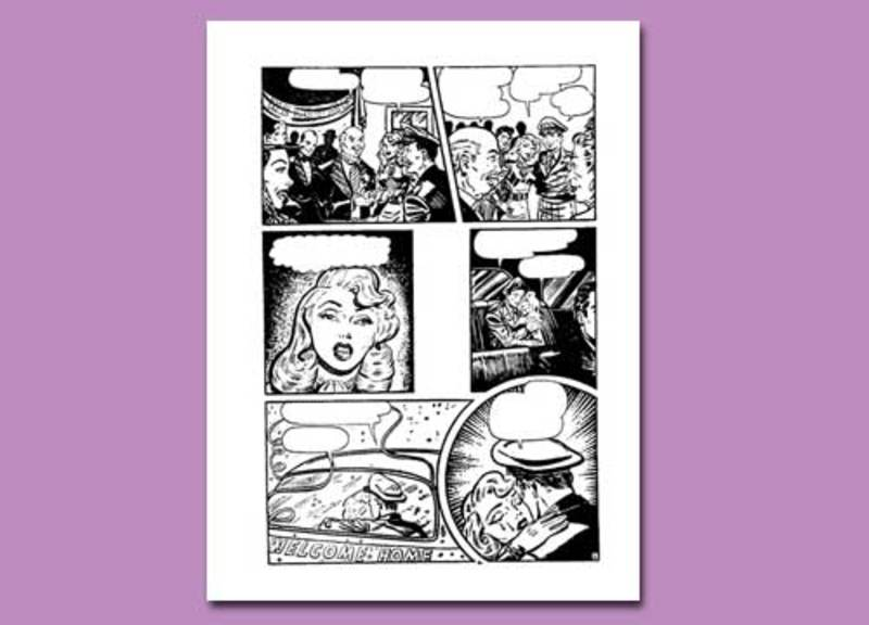 colouring page,women,colouring pages for women,journal,collage,romance  - ATR Colouring Page 11