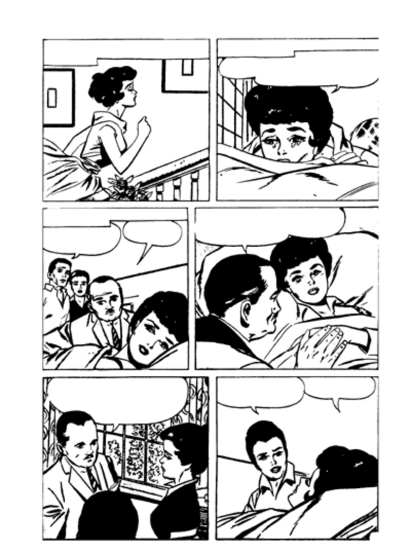 colouring page,women,colouring pages for women,romance,journal,collage  - Romantic Secrets Colouring Panel 13