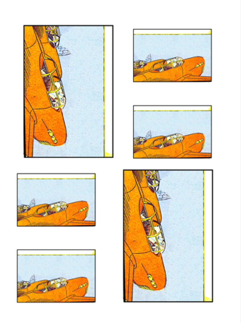 comicbook collage,aviation,collage,transport,aero  - Aviation Collage Sheet 1