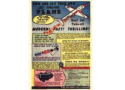comicbook,advertisement,boys,plane,vintage
