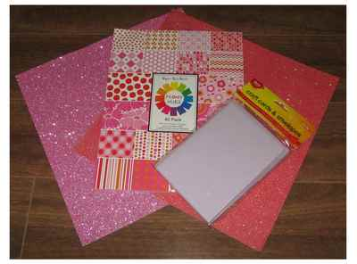 Craft Paper and Cards