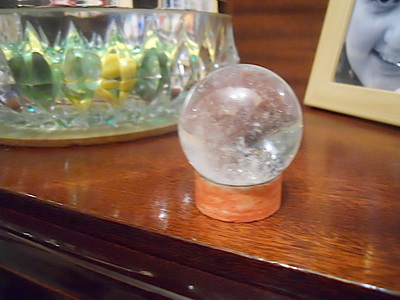 crystal ball, quartz