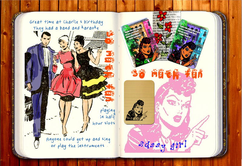 digital journal,inspiration,womens colouring pages,ideas,printables,how to use stuff from craft found  - Mina's Digital Journal 1