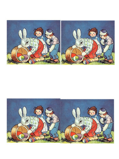 easter,easter bunny,easter baby bunnies,retro easter,retro