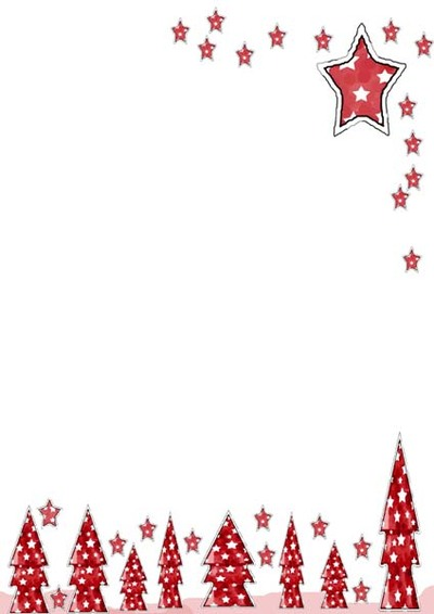 free christmas printable,christmas writing paper,christmas tree