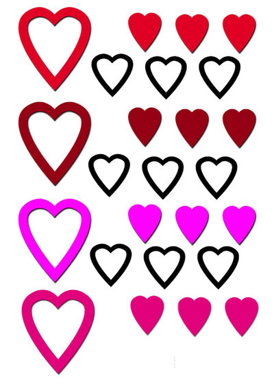 hearts,printables,valentines day,love