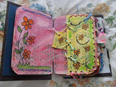 homemade journal,make journal,journal ideas
