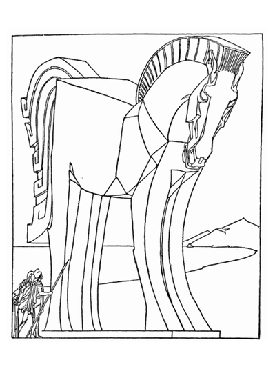 horse,colouring page,poster,free printable