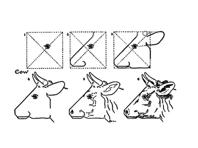 printables,drawing,how to draw,public domain,drawing series1,animals,cow