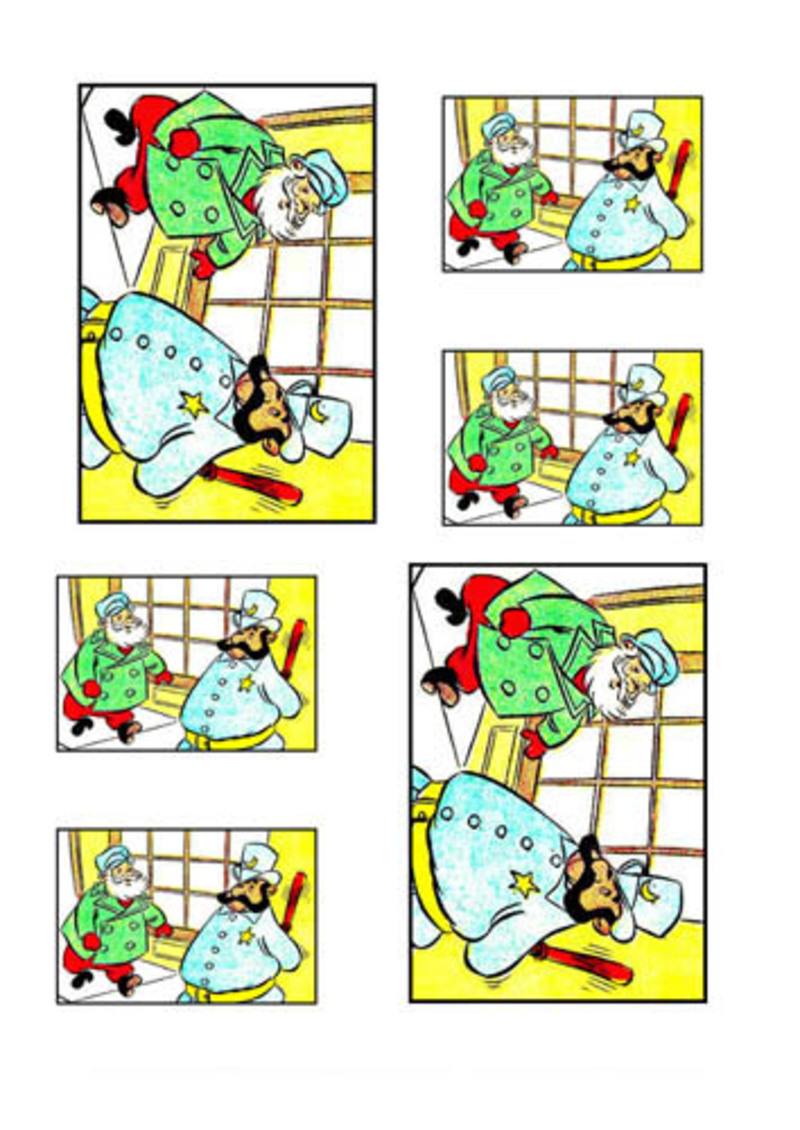 santa collage,christmas,collage,father christmas,santa collage sheet  - Santa Collage Sheet 33