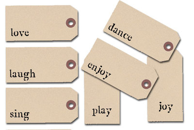 tags,inspiration,scrap tags,manilla tags,rubber stamp